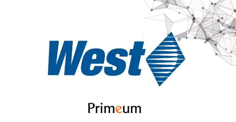 Primeum avec West Pharma dans le monde